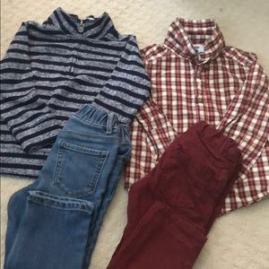 2 boy outfits